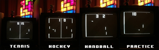 Ajax TV Game Pong Variations