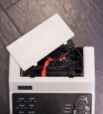 Ajax TV game chord compartment
