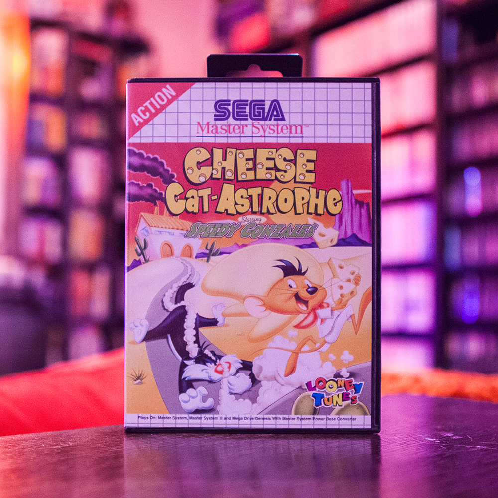 Cheese Cat-Astrophe - Sega Master System
