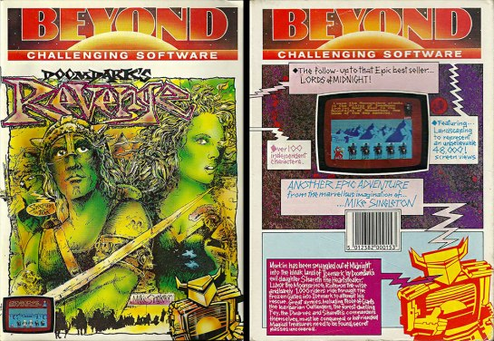 C64 - Doomdark's Revenge