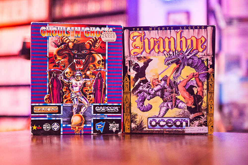 Ghouls n Ghosts - Ivanhoe for Amiga