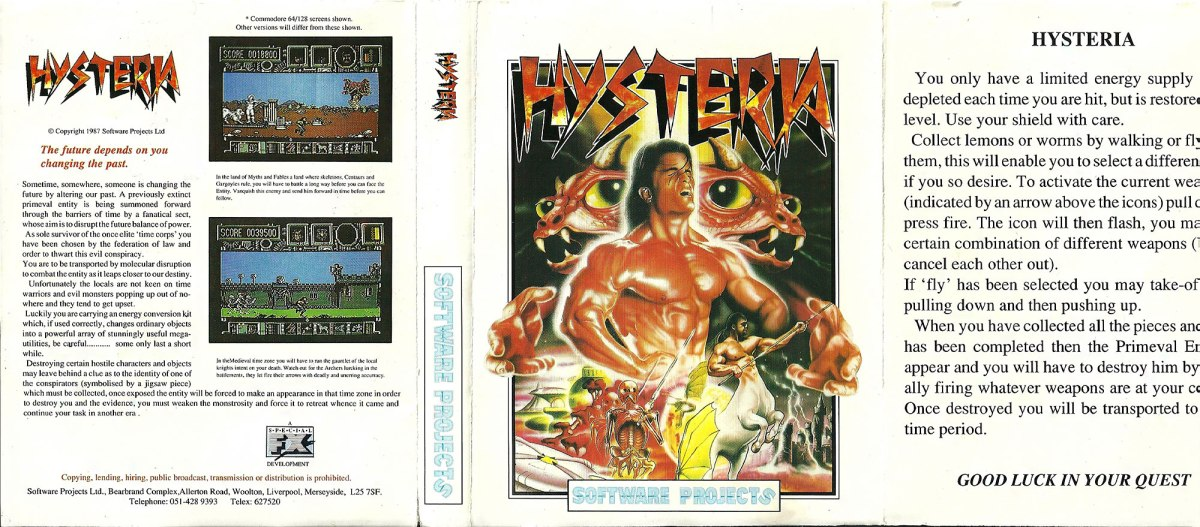 C64 - Hysterial full scan
