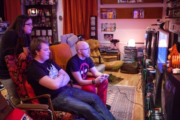 Gaming at Retro Rumble 2016
