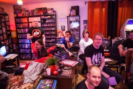 Retro Rumble Quiz contestants