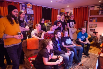 Semi-finals at Retro Rumble 2016