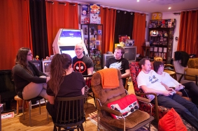 Hanging out at Retro Rumble 2016