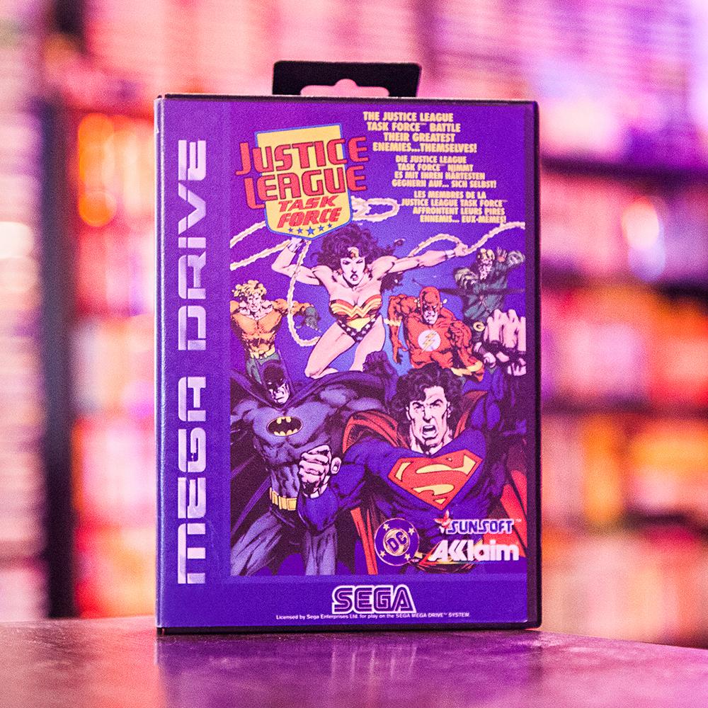 Justice League Task Force - Sega Mega Drive