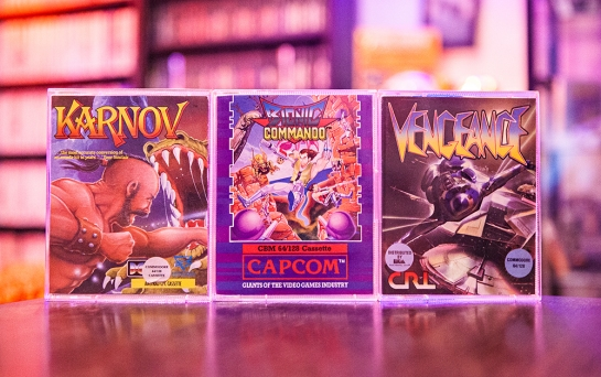 Karnov - Bionic Commando - Vengeance for C64