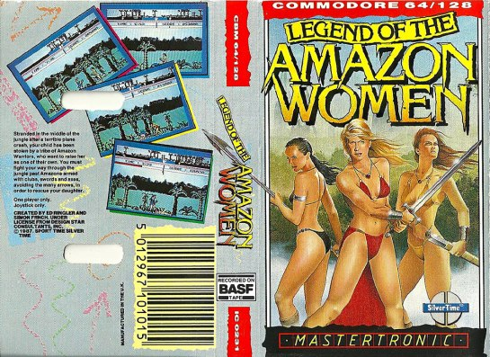 C64 - Legend of the Amazon Women