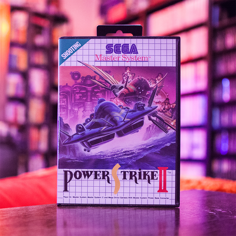 Power Strike II - Sega Master System