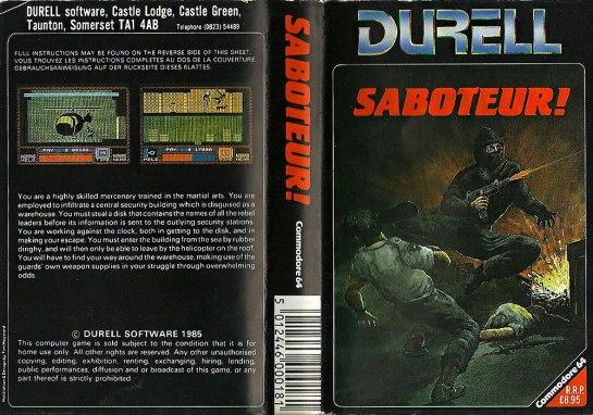 C64 - Saboteur!
