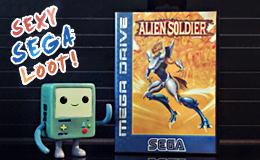 Sega Loot - Sega Mega Drive Alien Soldier