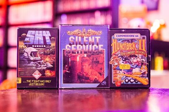 Sky Runner - Silent Service - Hunchback II Quasimodos Revenge for C64