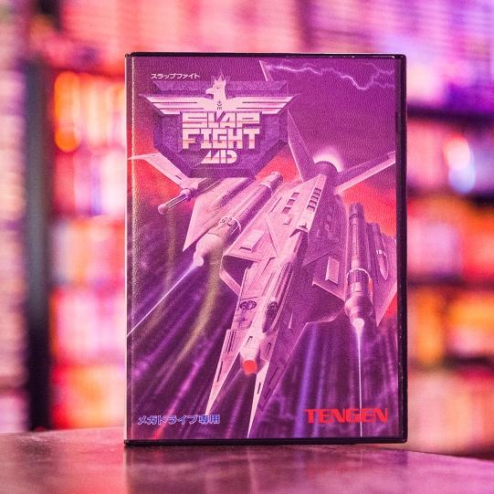 Slap Fight - Sega Mega Drive