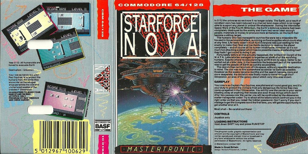 C64 Star Force Nova full scan