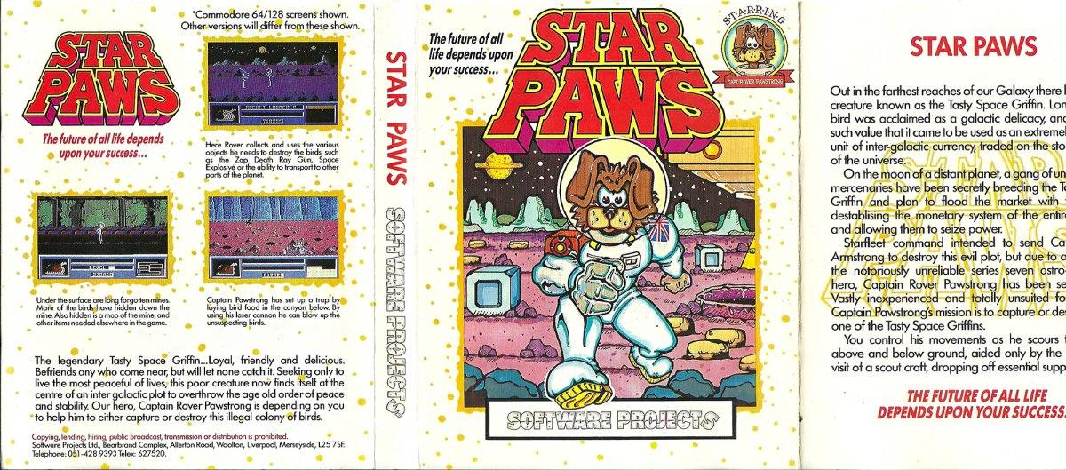 C64 Star Paws full scan