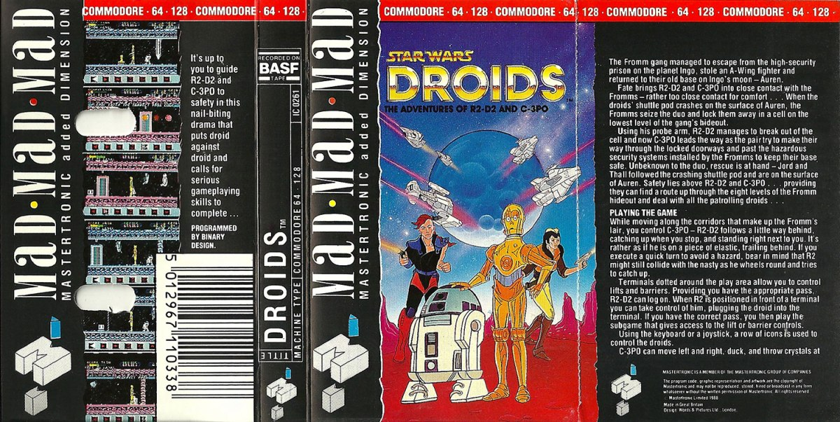 C64 Star Wars Droids full scan