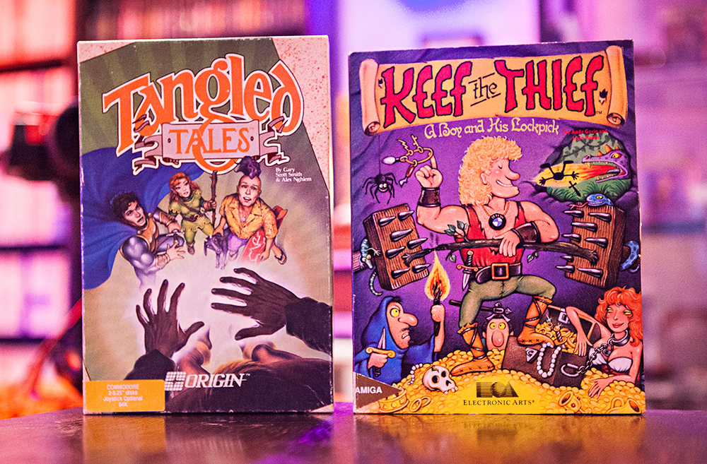 Tangled Tales C64 - Keef the Thief for Amiga
