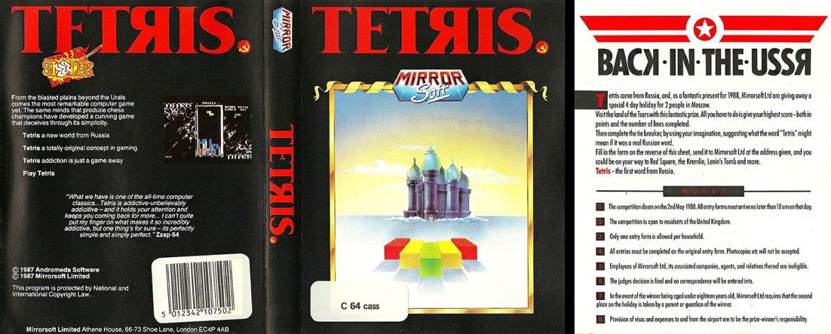 C64 Tetris full scan