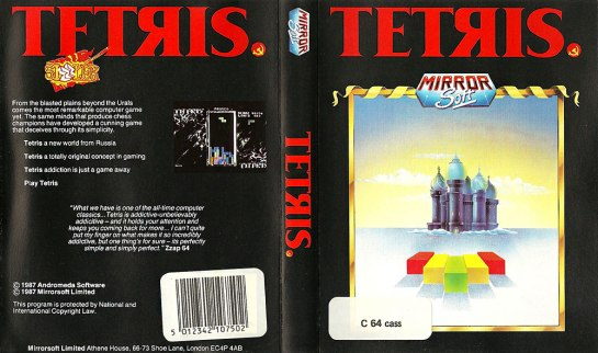 C64 - Tetris