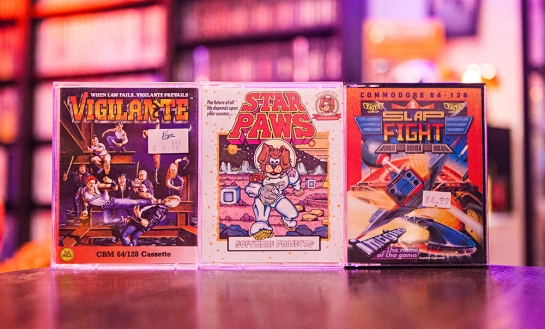 Vigilante - Star Paws - Slap Fight for C64