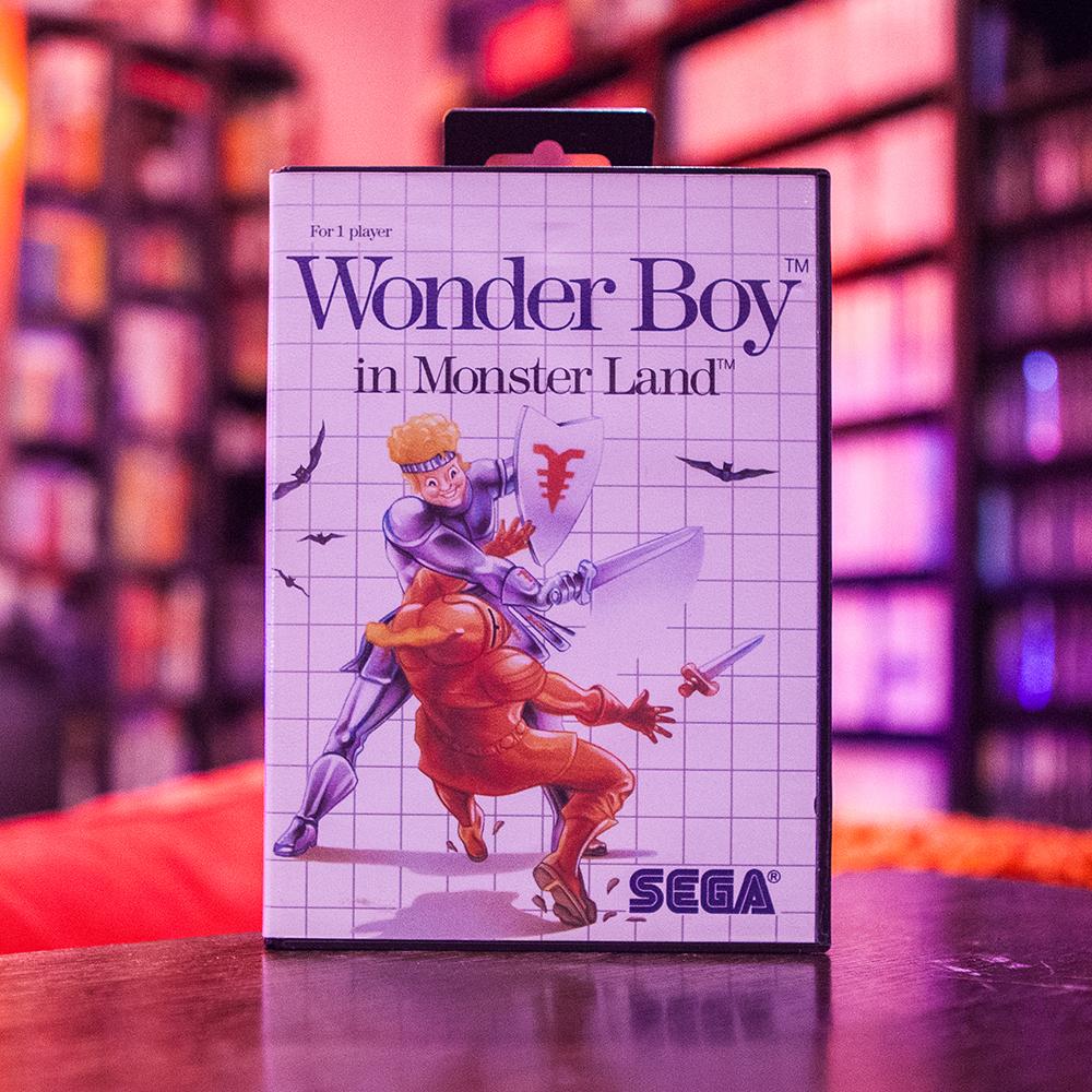 Wonderboy in Monster Land - Sega Master System