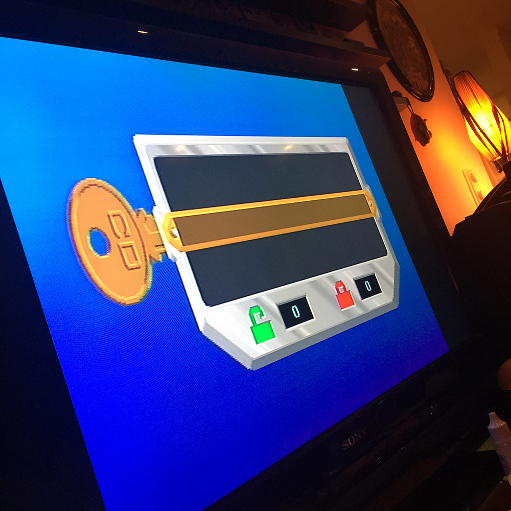 Amiga CD32 region lock screen