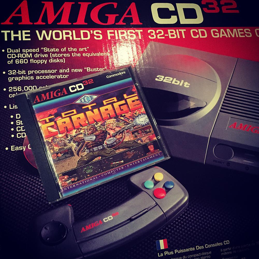 Amiga CD32 Total Carnage