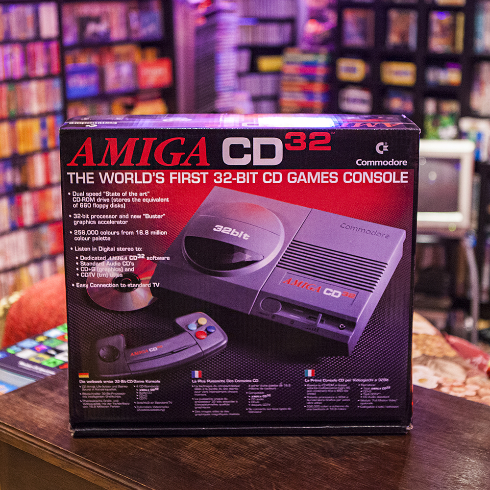 Boxed Amiga CD32