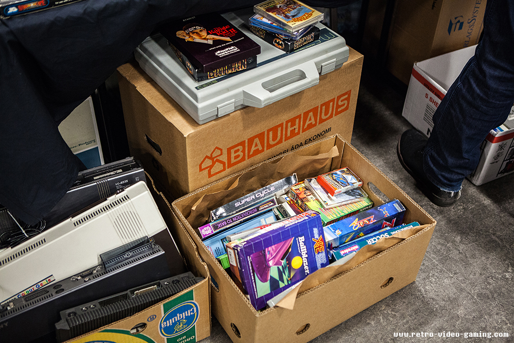 Amiga games for sale at Retro Gathering