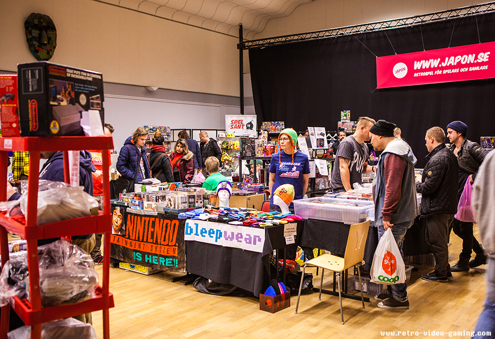 Bleep Wear and merchandise for sale at Retro Gathering