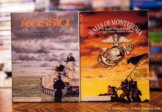 C64 Floppy Russia The Great War in the East, Halls of Montezuma