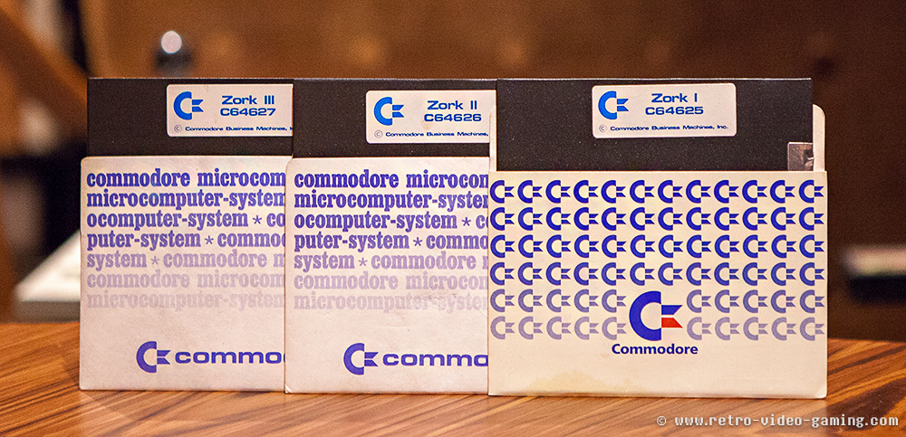 C64 Floppy Zork I, Zork II, Zork III