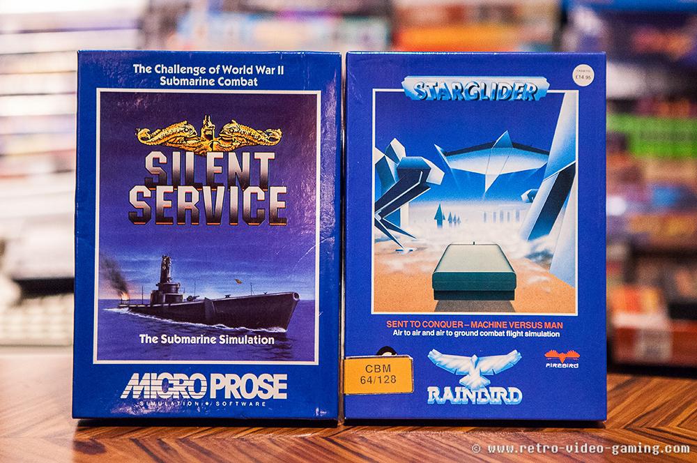 C64 Silent Service, Starglider