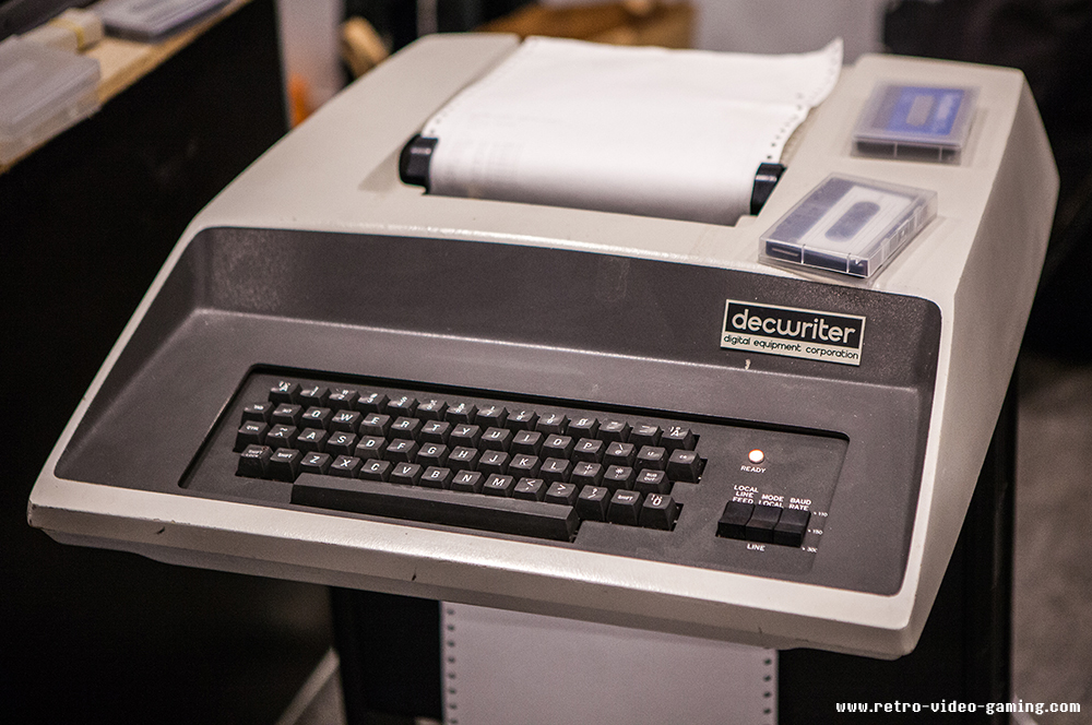 Decwriter at Retro Gathering