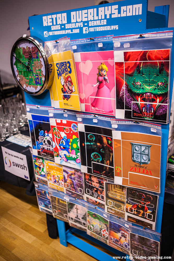 Game poster for sale at Retro Gathering