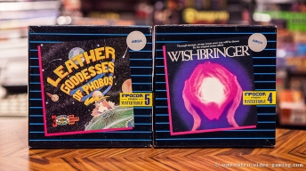 Leather Goddesses of Phobos, Wishbringer - Amiga