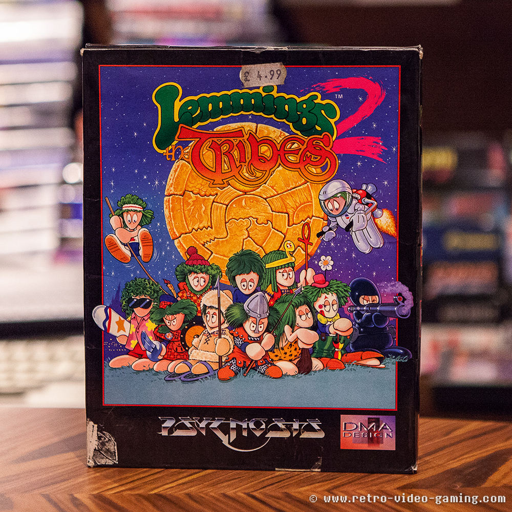 Lemmings 2 The Tribes - Amiga