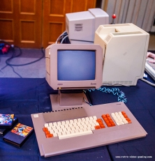 Commodore VIC 20 setup at Retro Gathering