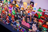 Pappas Pärlor selling perler bead art at Retro Gathering