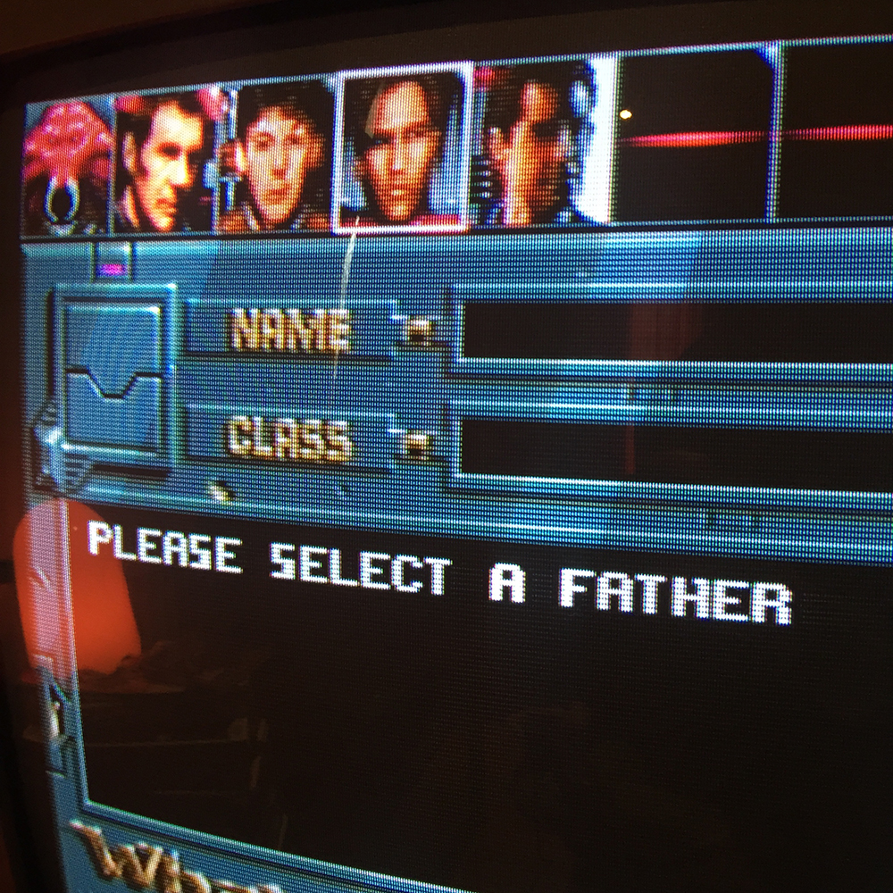 Please select a father - Whales Voyage screenshot