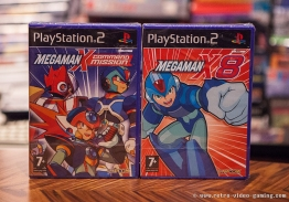 PS2 Megaman X Command Mission, Megaman X8