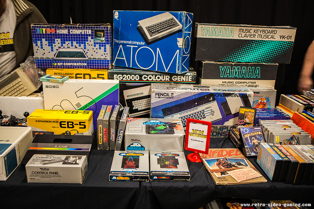 Retro games and systems for sale at Retro Gathering