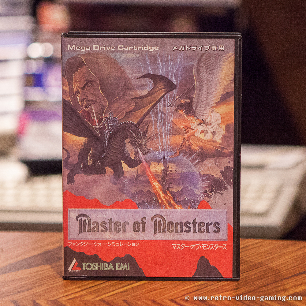 Sega Mega Drive Master of Monsters