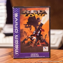 Sega Mega Drive Red Zone