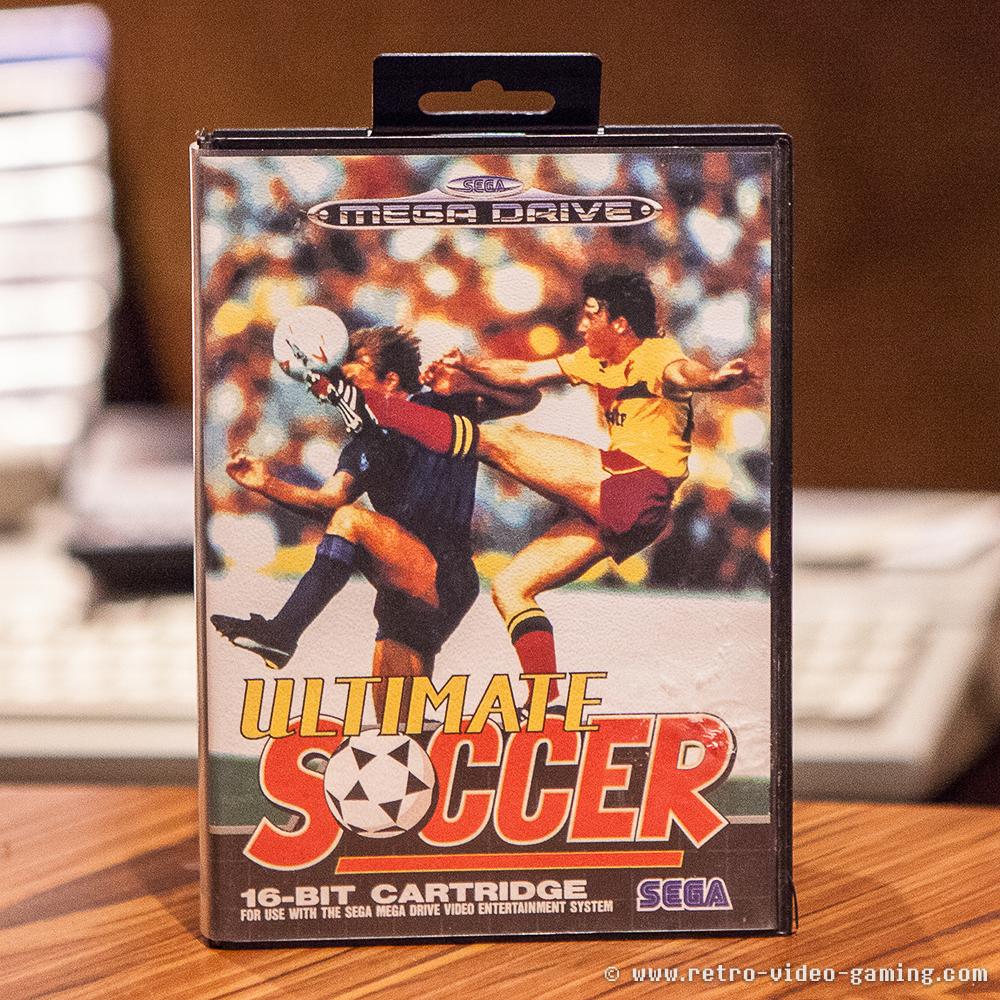 Sega Mega Drive Ultimate Soccer