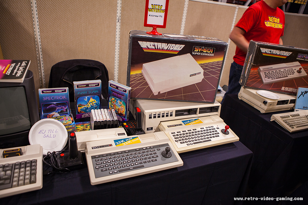 Spectravideo at Retro Gathering