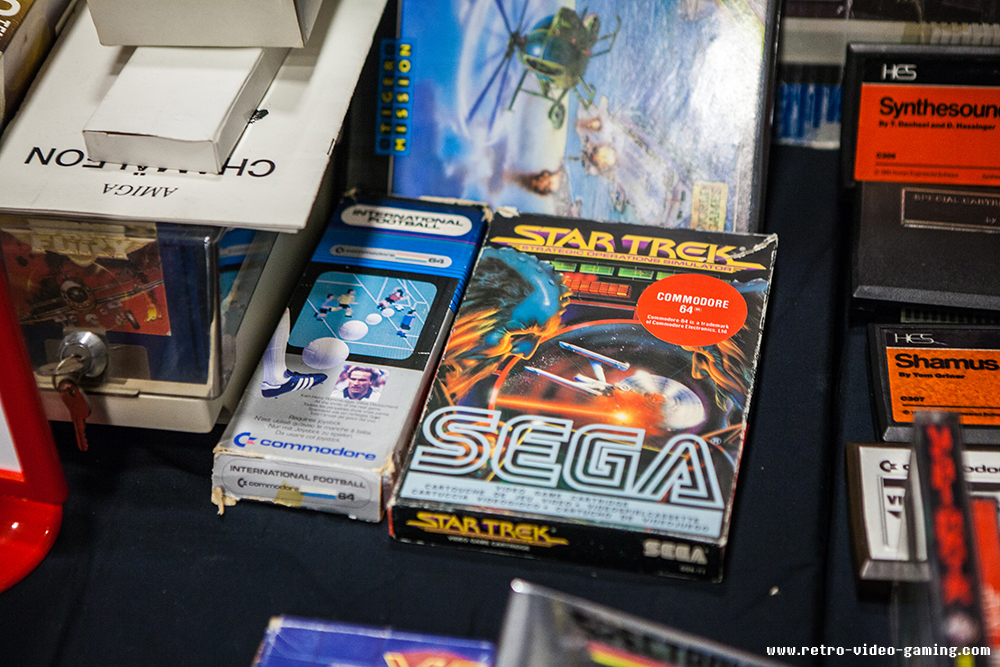 Star Trek for Commodore for sale at Retro Gathering