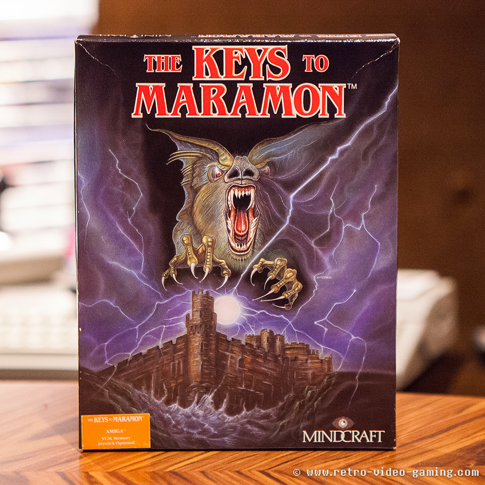 The Keys to Maramon - Amiga