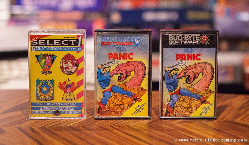 VIC 20 Select 1, Panic x 2